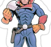 Super Smash Bros 64 Japan Captain Falcon Sticker