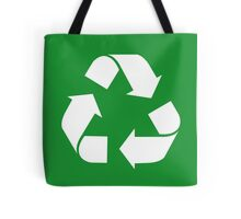 Recycle, save the planet, earth day, green Tote Bag
