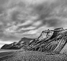 Eypes mouth beach and golden cap by Gary Heald LRPS