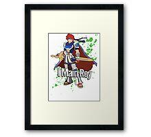I Main Roy - Super Smash Bros. Framed Print