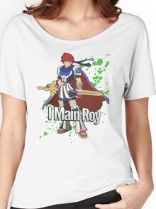 I Main Roy - Super Smash Bros. Women's Relaxed Fit T-Shirt