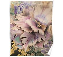 Vintage Mixed Floral  Poster