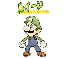 Super Smash Bros 64 Japan Luigi Photographic Print