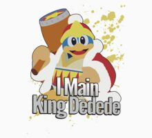 I Main King Dedede - Super Smash Bros. by PrincessCatanna