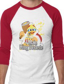 I Main King Dedede - Super Smash Bros. Men's Baseball ¾ T-Shirt