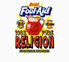 Fool-Aid: 100% Pure Religion (Light background) Unisex T-Shirt