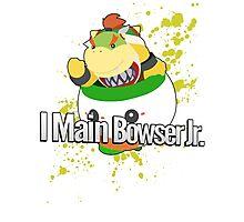 I Main Bowser Jr. - Super Smash Bros. Photographic Print