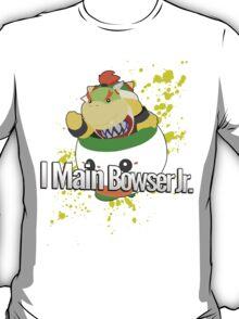 I Main Bowser Jr. - Super Smash Bros. T-Shirt