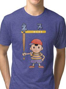 Super Smash Bros 64 Japan Ness Tri-blend T-Shirt