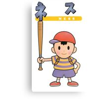 Super Smash Bros 64 Japan Ness Canvas Print