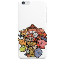 Super Smash Bros 64 Japan Characters iPhone Case/Skin