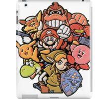 Super Smash Bros 64 Japan Characters iPad Case/Skin