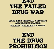 End the Prohibition by tastypaper