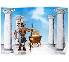 Zeus, God of Thunder Poster
