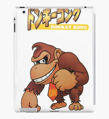 Super Smash Bros 64 Japan Donkey Kong iPad Case/Skin