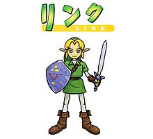 Super Smash Bros 64 Japan Link Photographic Print