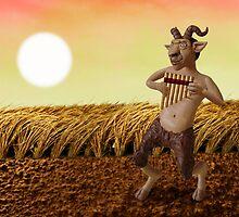 Pan, God of Nature by Stijn Van Elst