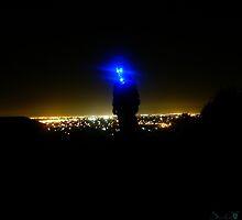 Hillside Landed Alien by Salien