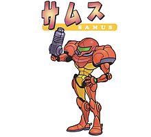 Super Smash Bros 64 Japan Samus Photographic Print
