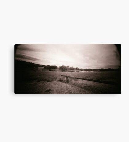 Pin Hole Landscape Canvas Print