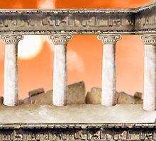 Parthenon Interior by Stijn Van Elst