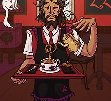 Orpheus' Cat Cafe by garlic8reath