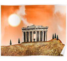 Parthenon Exterior Poster