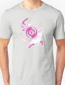 Conjectural Mythology-- Pink T-Shirt