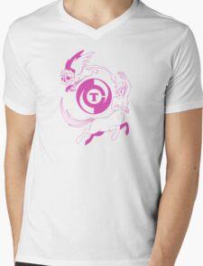 Conjectural Mythology-- Pink Mens V-Neck T-Shirt