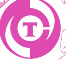Conjectural Mythology-- Pink Sticker