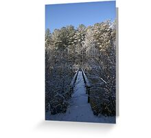 Freezing on the Dock of the Bay Greeting Card