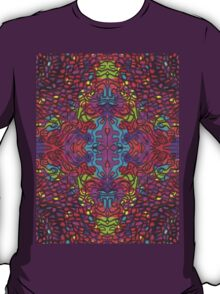 Color Play [Mirror Repeat] T-Shirt