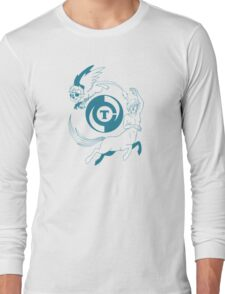 Conjectural Mythology-- Blue Long Sleeve T-Shirt