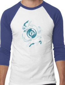Conjectural Mythology-- Blue Men's Baseball ¾ T-Shirt