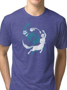 Conjectural Mythology-- Blue Tri-blend T-Shirt