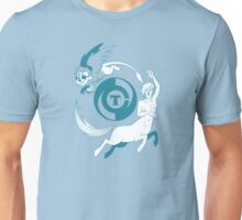 Conjectural Mythology-- Blue Unisex T-Shirt