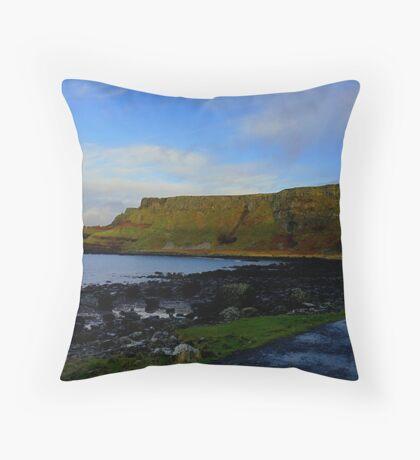 The Giant Causeway Throw Pillow