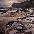 Morning light Huntcliff Saltburn  by Phillip Dove