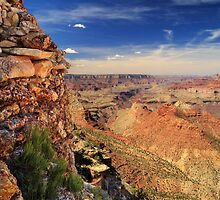 Grand Canyon Wall by James Eddy