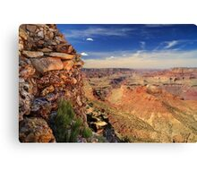Grand Canyon Wall Canvas Print