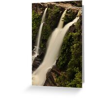 Jesus gives us the water of Life Greeting Card