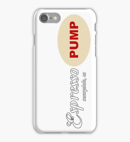 Espresso Pump - Buffy the Vampire Slayer iPhone Case/Skin