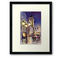 Prague Old Town Square 3 variant Framed Print