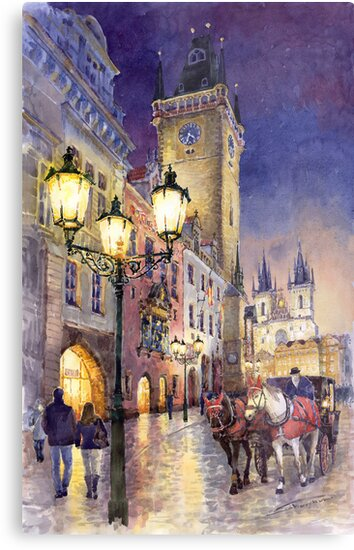 Prague Old Town Square 3 variant by Yuriy Shevchuk