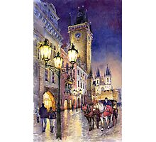 Prague Old Town Square 3 variant Photographic Print
