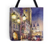 Prague Old Town Square 3 variant Tote Bag