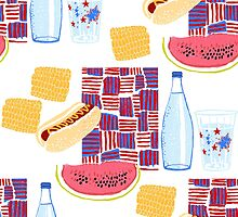 Picnic 4th of July by sarahrozdilski