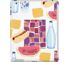 Picnic 4th of July iPad Case/Skin