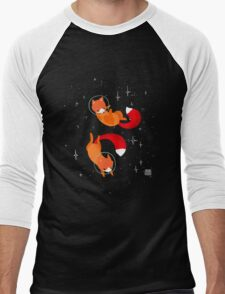 Space Foxes Men's Baseball ¾ T-Shirt