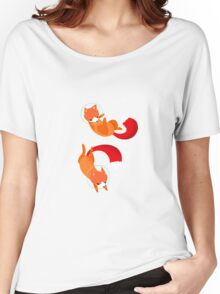 Space Foxes Women's Relaxed Fit T-Shirt